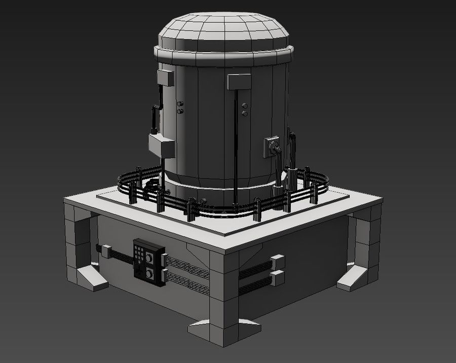 Apocalyptic royalty-free 3d model - Preview no. 6