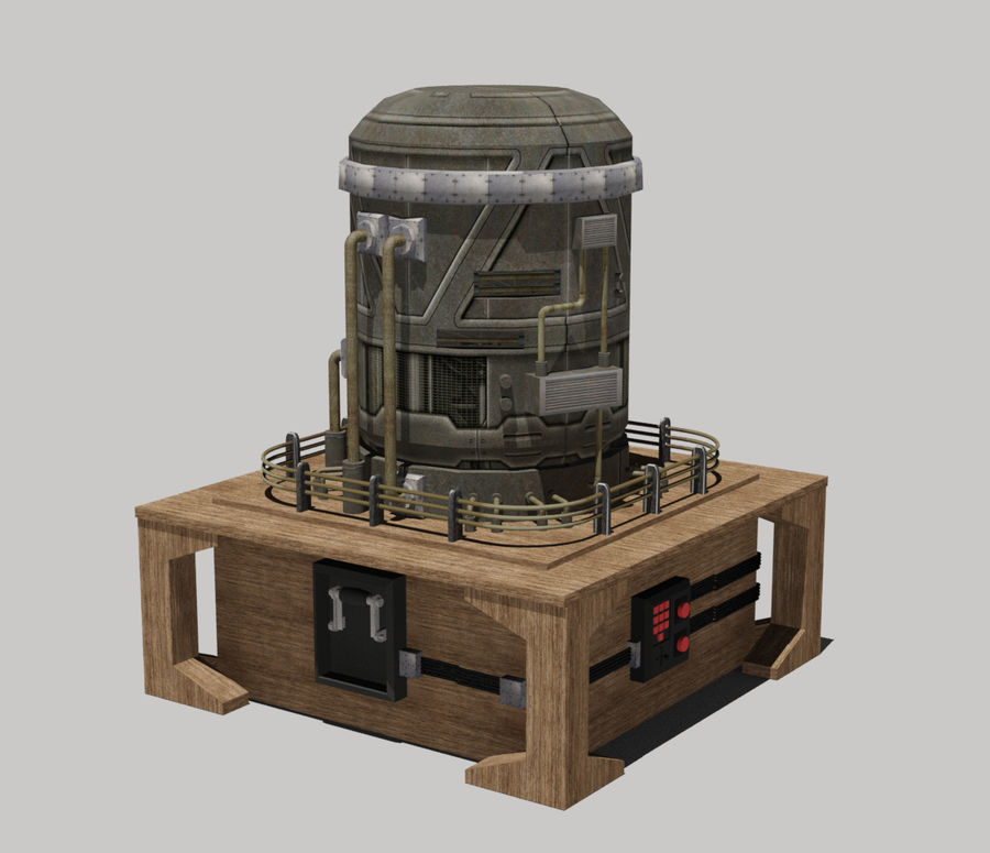 Apocalyptic royalty-free 3d model - Preview no. 1