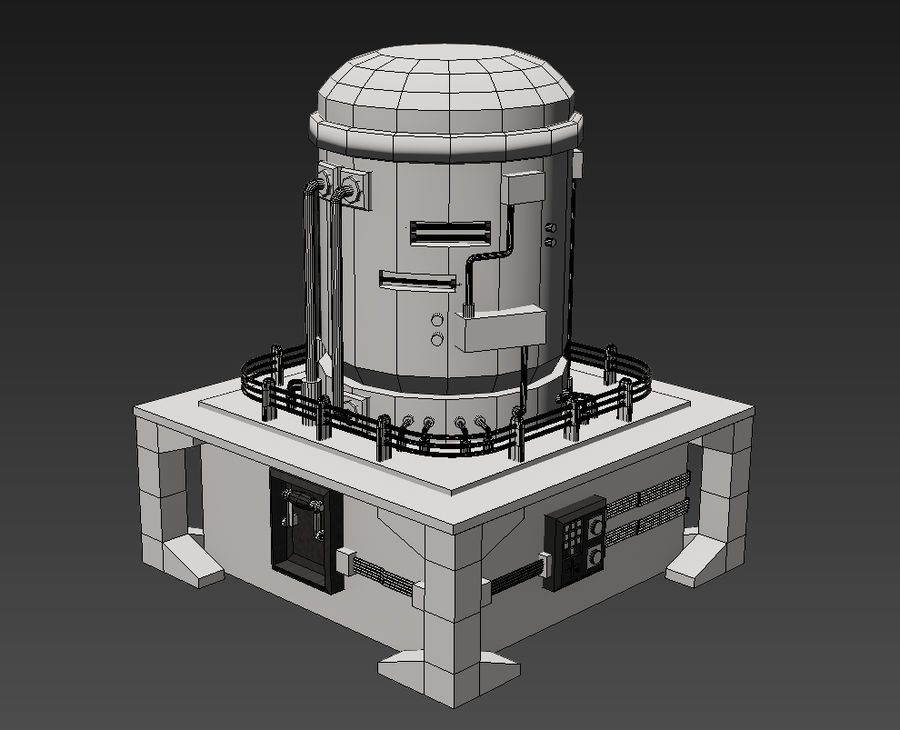 Apocalyptic royalty-free 3d model - Preview no. 4
