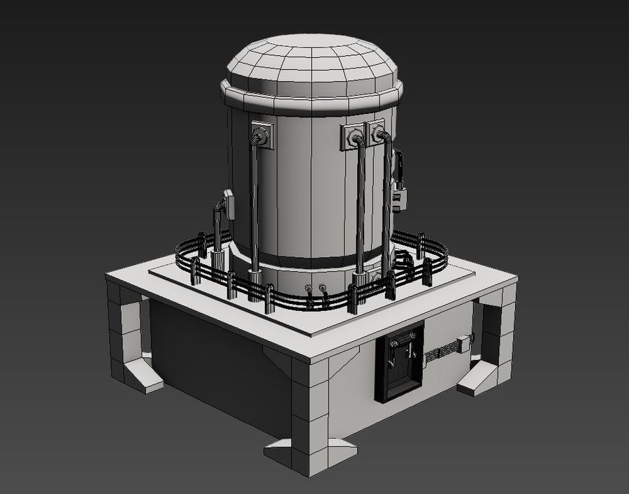Apocalyptic royalty-free 3d model - Preview no. 3