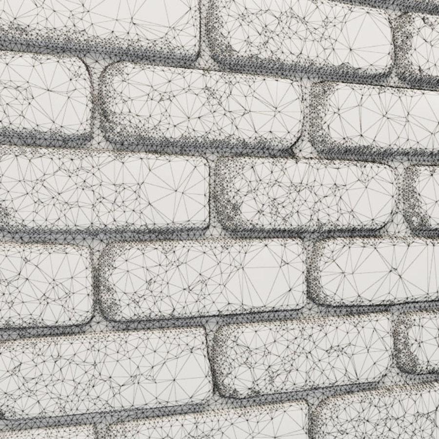 Pierre de plâtre, brique royalty-free 3d model - Preview no. 9