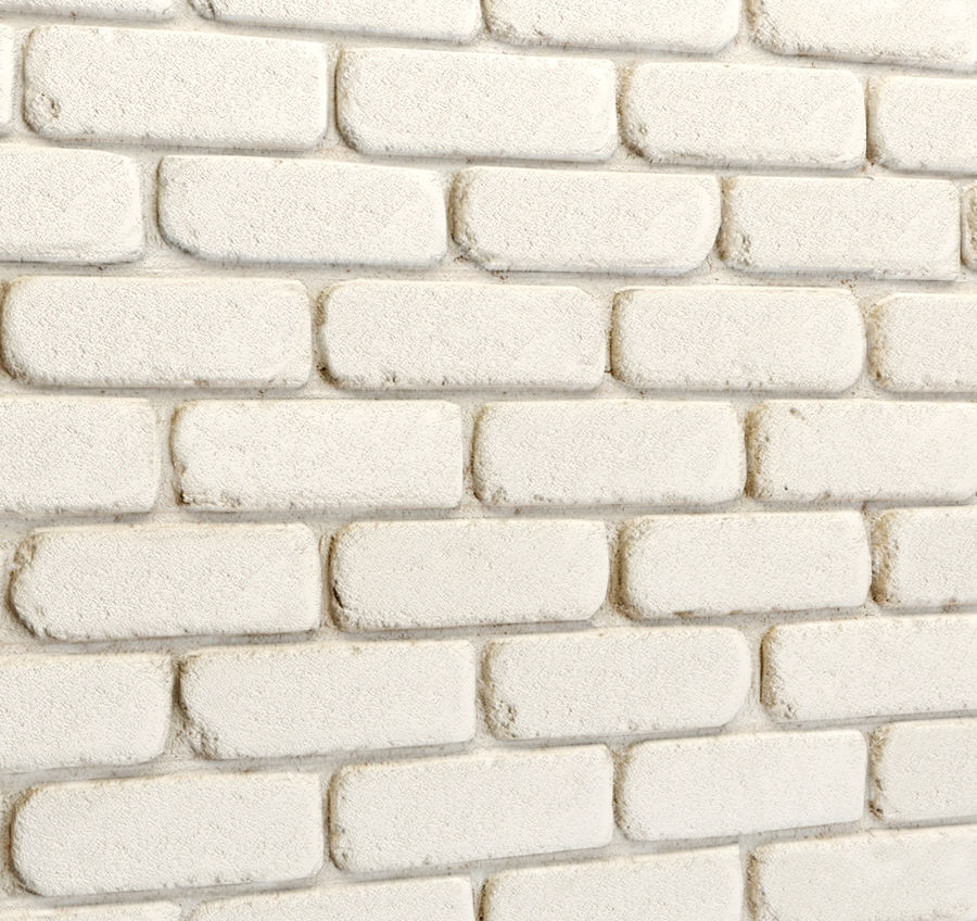 Pierre de plâtre, brique royalty-free 3d model - Preview no. 8