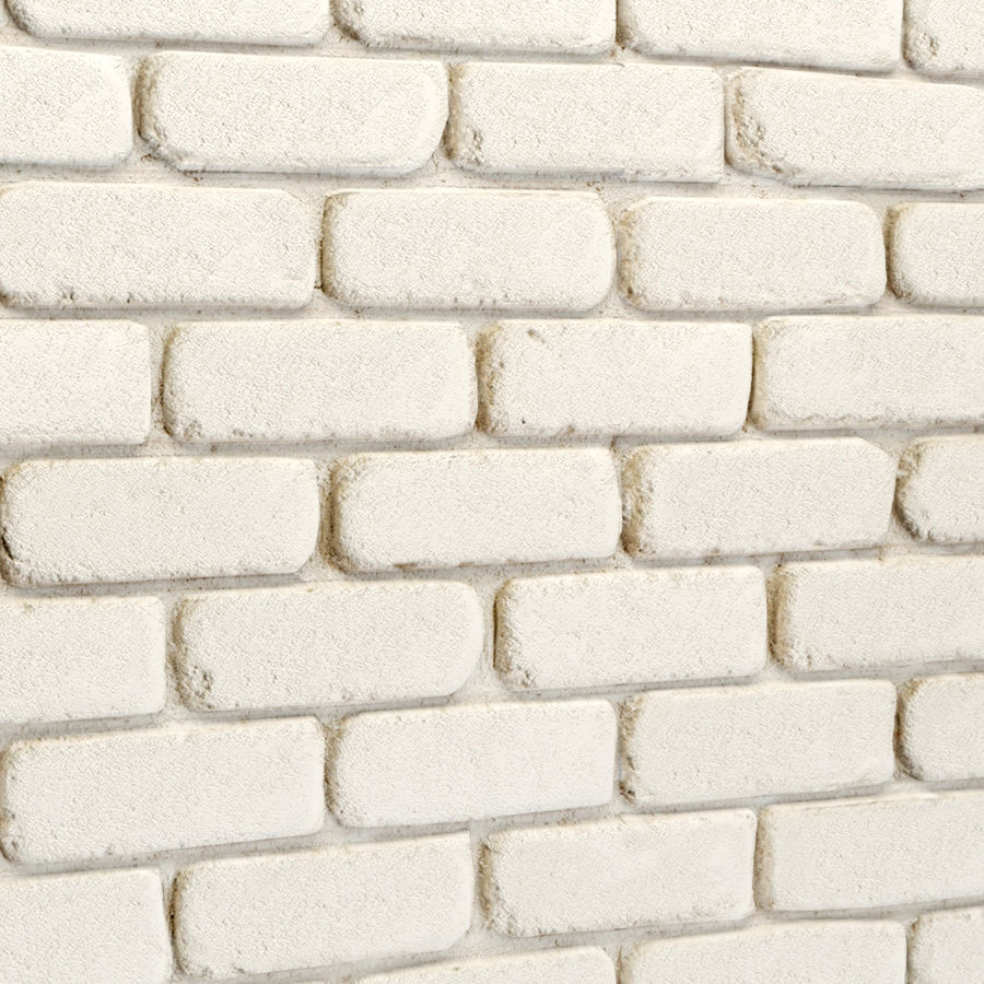 Pierre de plâtre, brique royalty-free 3d model - Preview no. 6