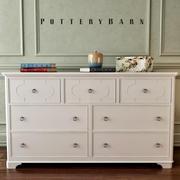 Pottery Barn Shelby Dresser + Hutch 3d model