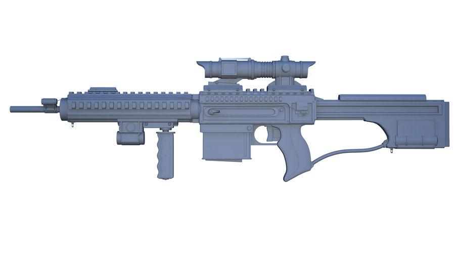 돌격 소총 royalty-free 3d model - Preview no. 2
