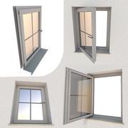 Pencere bileşeni Sağlam ve Animasyonlu 3d model