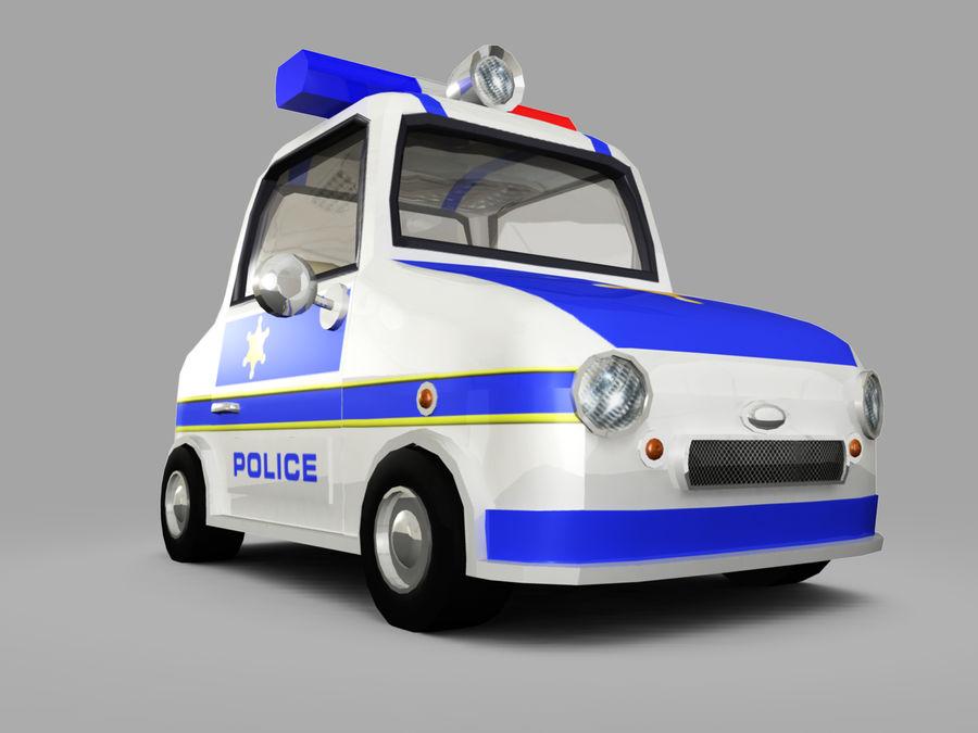 Samochód policyjny royalty-free 3d model - Preview no. 8
