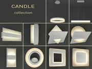 Leuchten Kerze 3d model