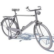 Classic Old Bicycle 3d model