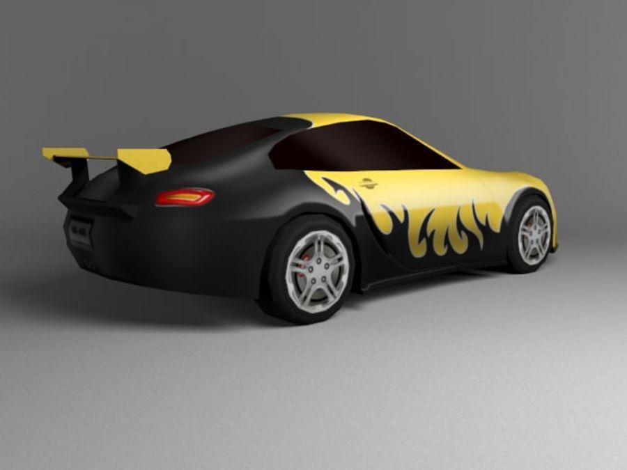 3D汽车低聚 royalty-free 3d model - Preview no. 14