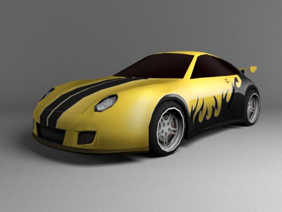 3D汽车低聚 royalty-free 3d model - Preview no. 13