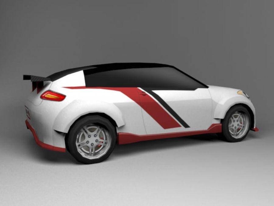 3D汽车低聚 royalty-free 3d model - Preview no. 20