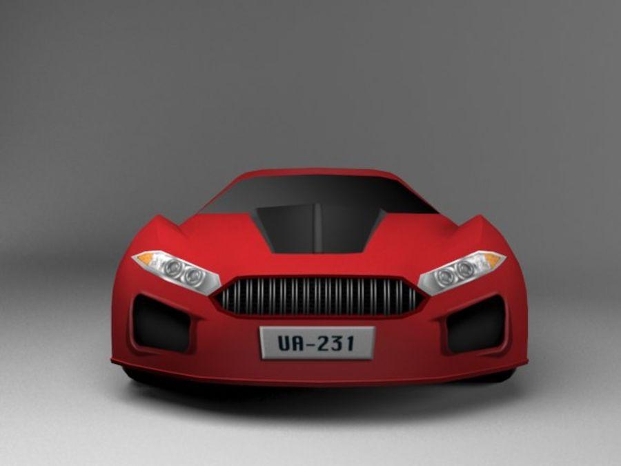 3D汽车低聚 royalty-free 3d model - Preview no. 7