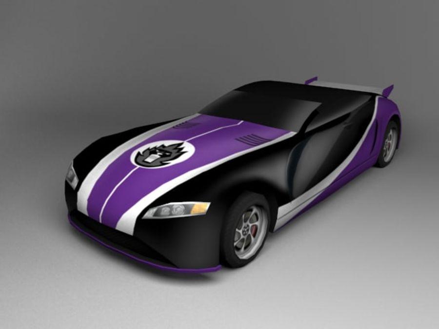 3D汽车低聚 royalty-free 3d model - Preview no. 18