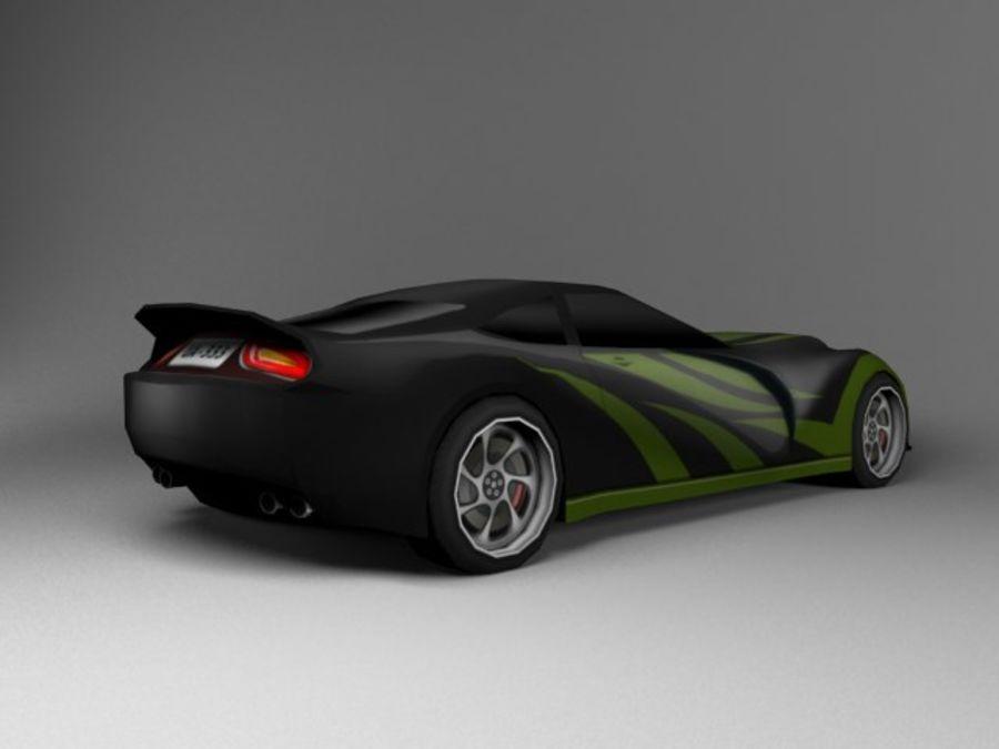 3D汽车低聚 royalty-free 3d model - Preview no. 10