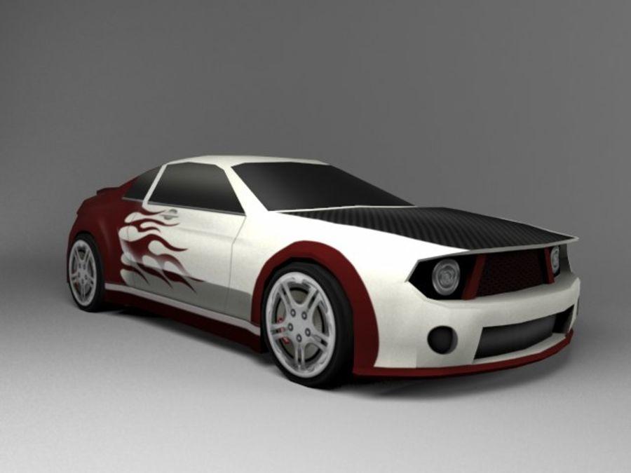 3D汽车低聚 royalty-free 3d model - Preview no. 4