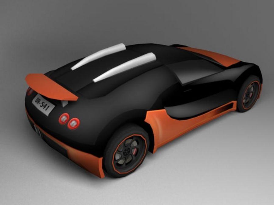 3D汽车低聚 royalty-free 3d model - Preview no. 16