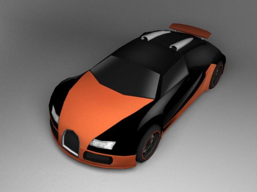 3D汽车低聚 royalty-free 3d model - Preview no. 15