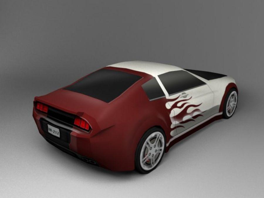 3D汽车低聚 royalty-free 3d model - Preview no. 5