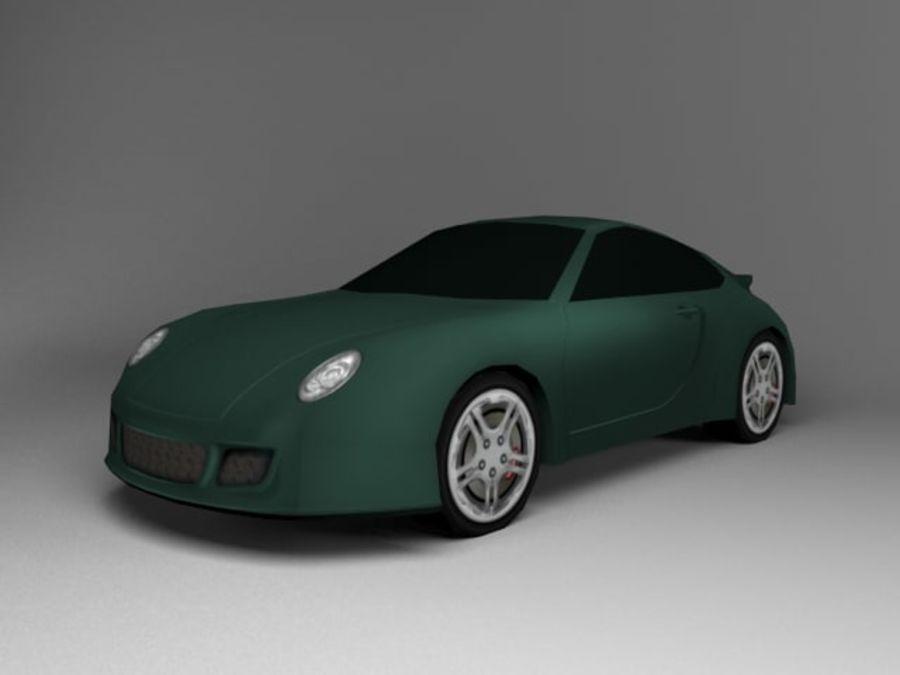 3D汽车低聚 royalty-free 3d model - Preview no. 22