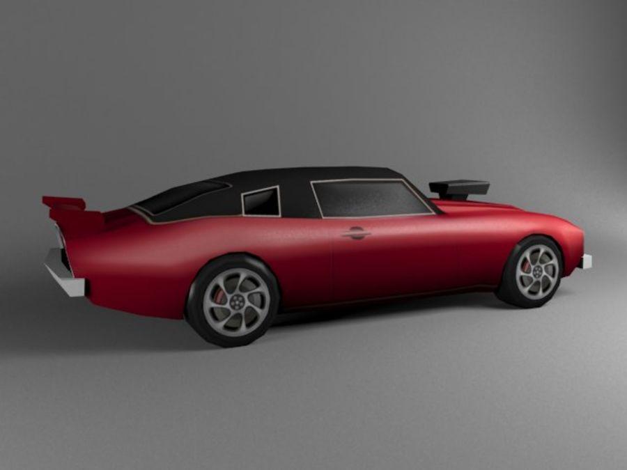 3D汽车低聚 royalty-free 3d model - Preview no. 12