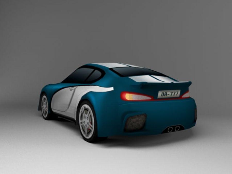 3D汽车低聚 royalty-free 3d model - Preview no. 3
