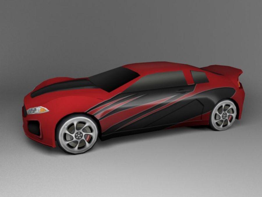 3D汽车低聚 royalty-free 3d model - Preview no. 8