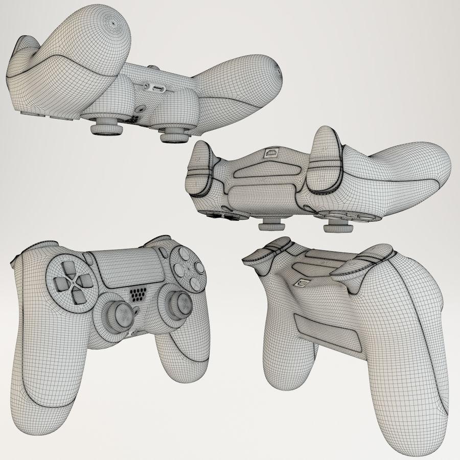 索尼Playstation 4 royalty-free 3d model - Preview no. 5