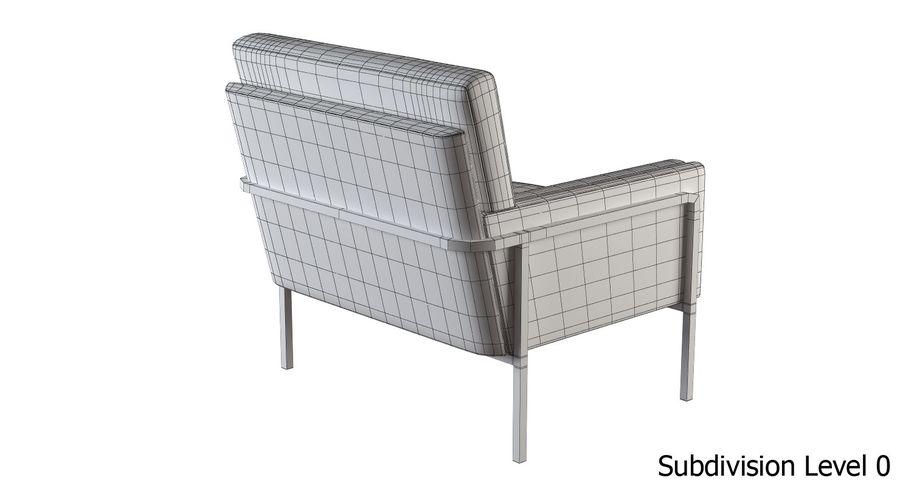 Кресло для отдыха royalty-free 3d model - Preview no. 12