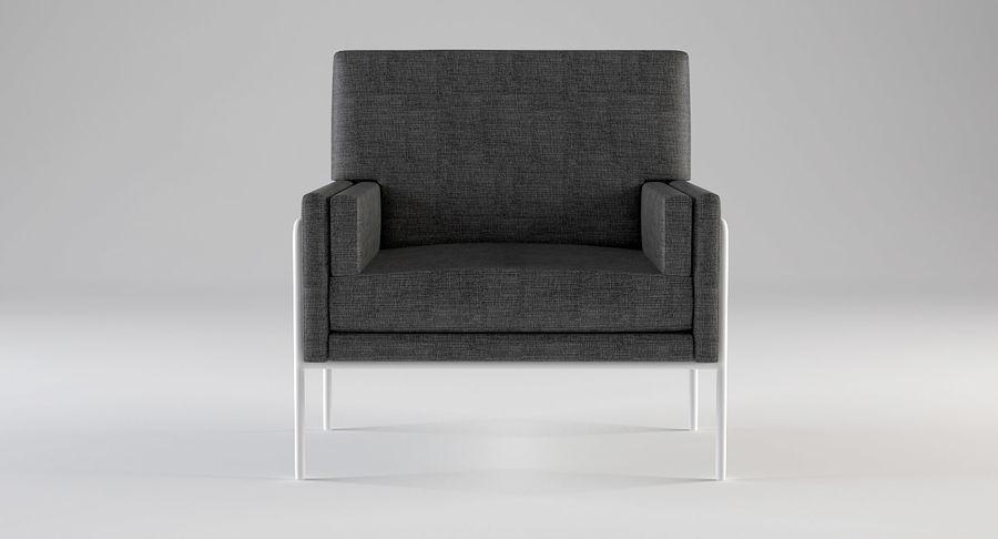Кресло для отдыха royalty-free 3d model - Preview no. 4