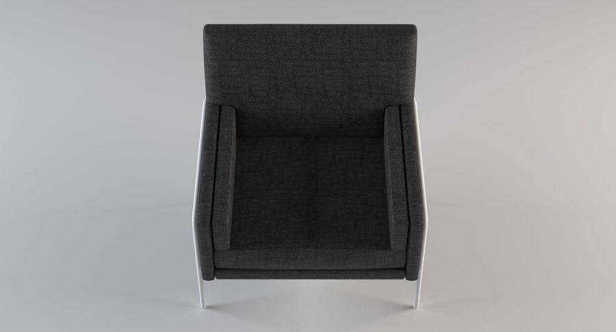 Кресло для отдыха royalty-free 3d model - Preview no. 7
