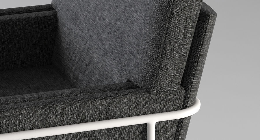 Кресло для отдыха royalty-free 3d model - Preview no. 8