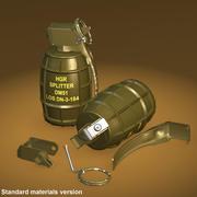 DM51手榴弾 3d model