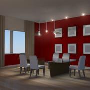 방 3d model
