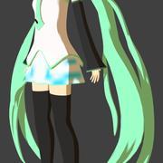 Hatsune Miku Anime 3d model