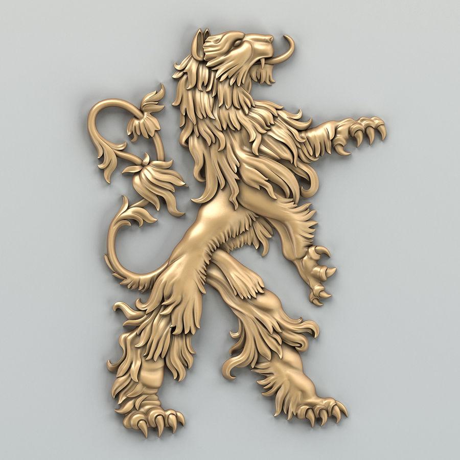 Decorazioni animali 001 royalty-free 3d model - Preview no. 2