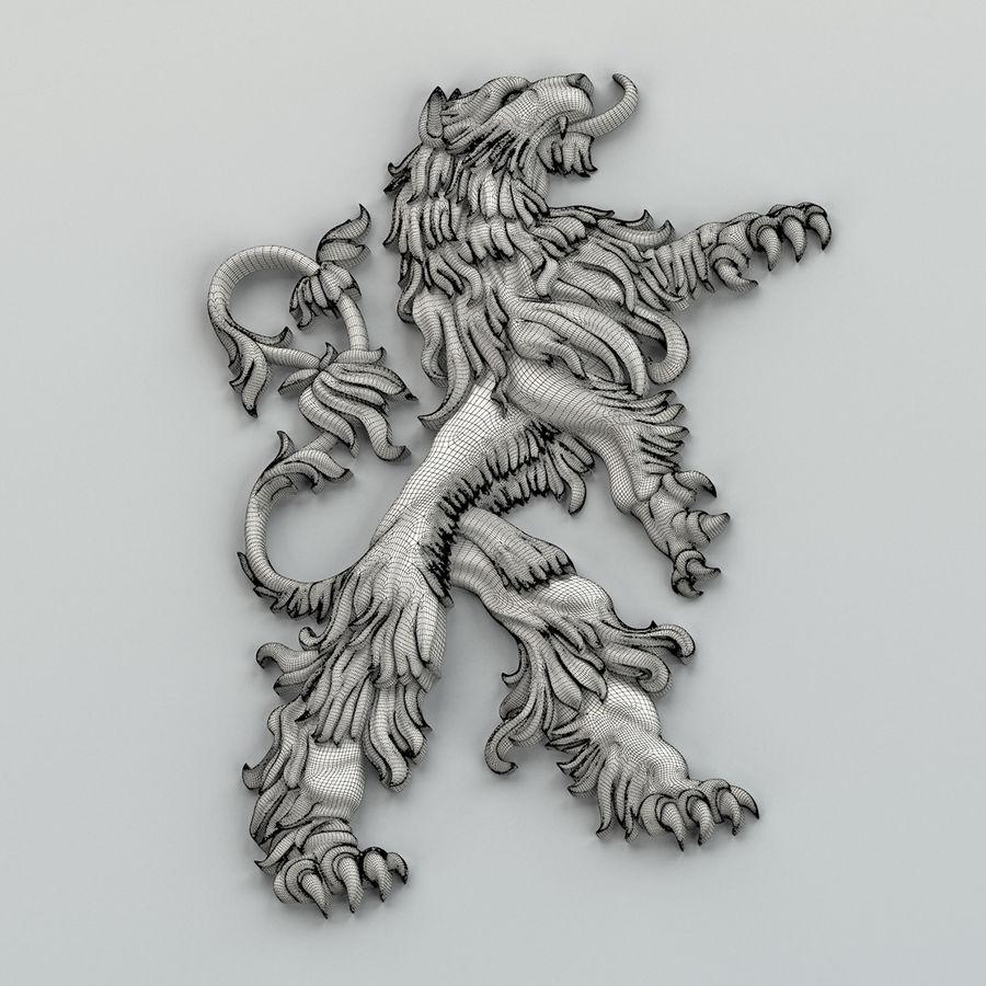 Decorazioni animali 001 royalty-free 3d model - Preview no. 7