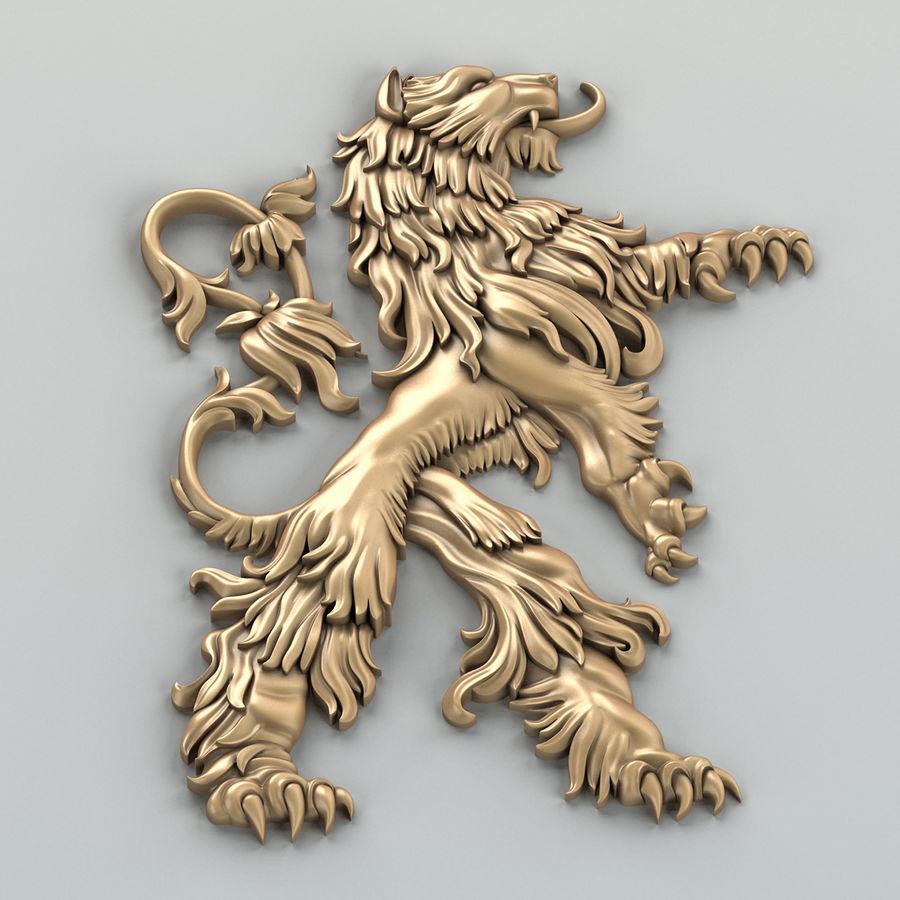 Decorazioni animali 001 royalty-free 3d model - Preview no. 5
