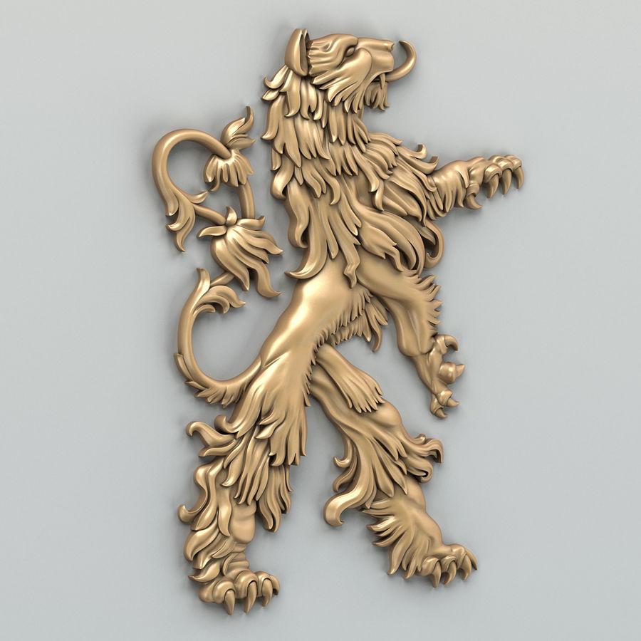 Decorazioni animali 001 royalty-free 3d model - Preview no. 1