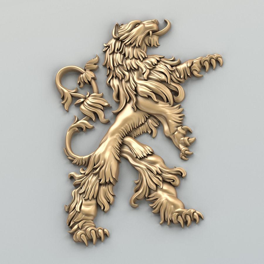 Decorazioni animali 001 royalty-free 3d model - Preview no. 4