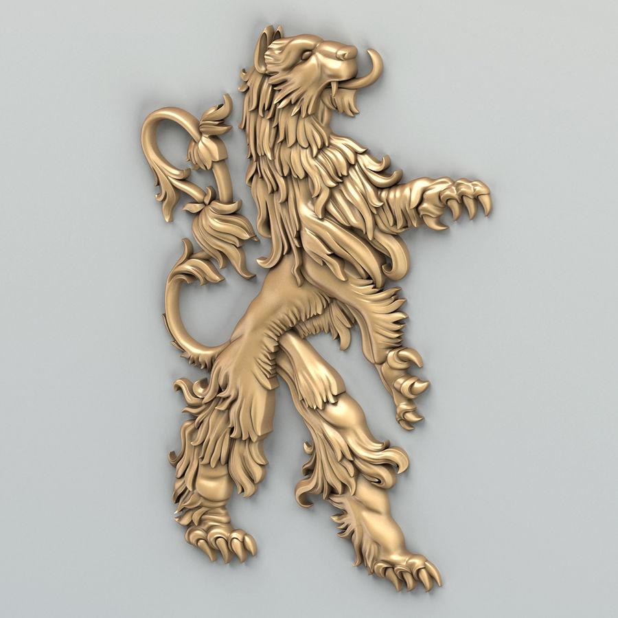 Decorazioni animali 001 royalty-free 3d model - Preview no. 3