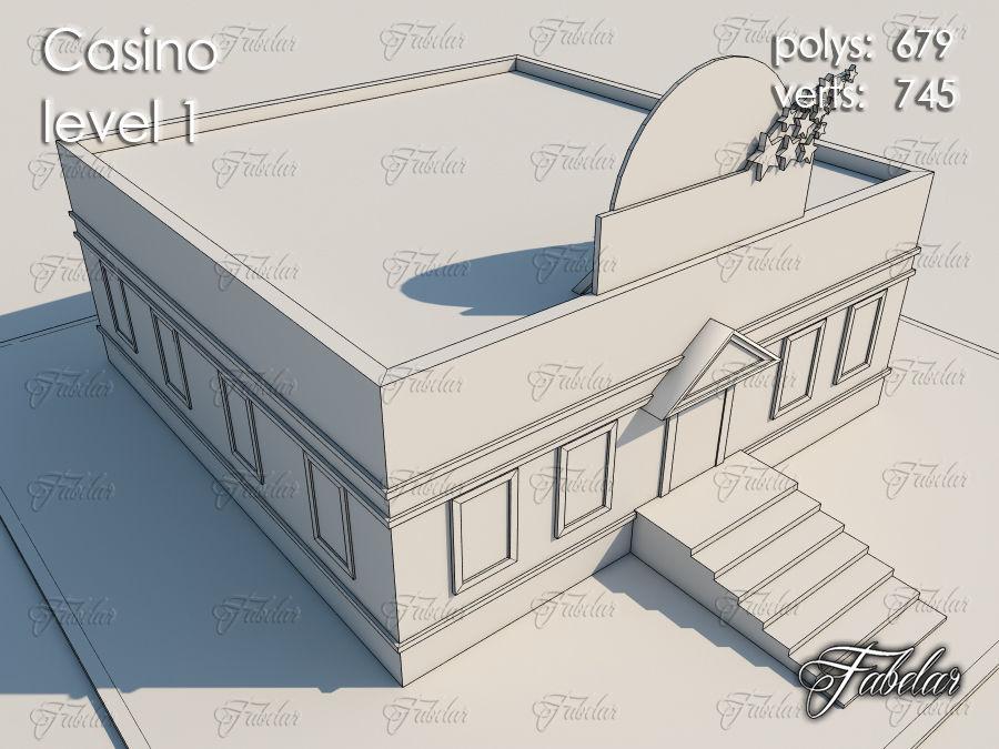 Poziom kasyna 1 royalty-free 3d model - Preview no. 8