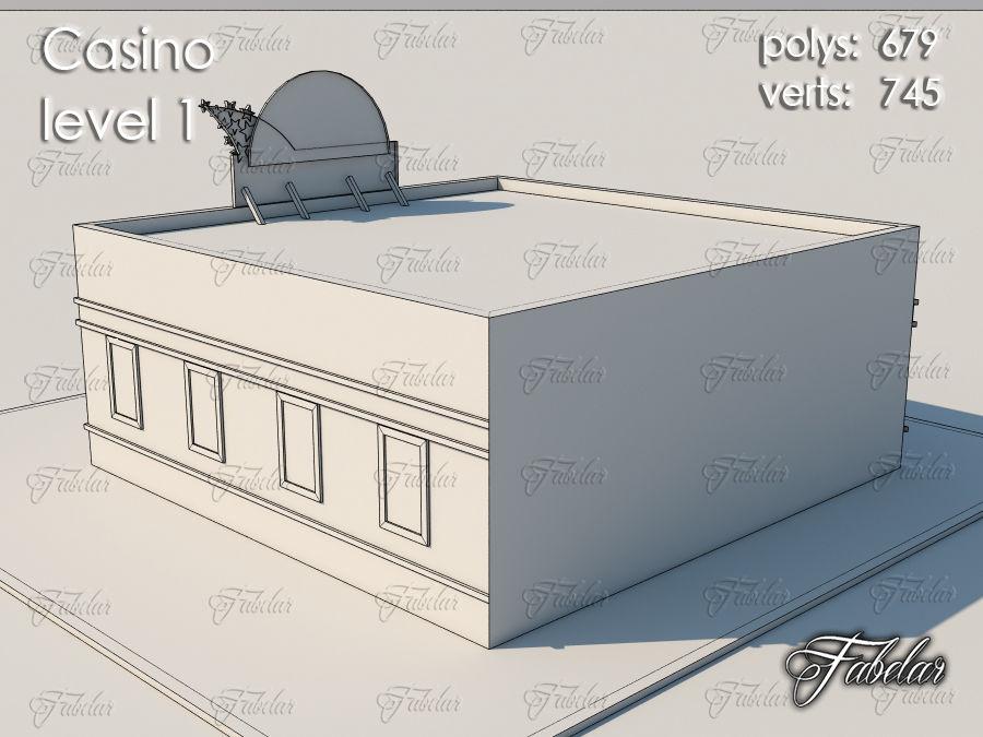 Poziom kasyna 1 royalty-free 3d model - Preview no. 9