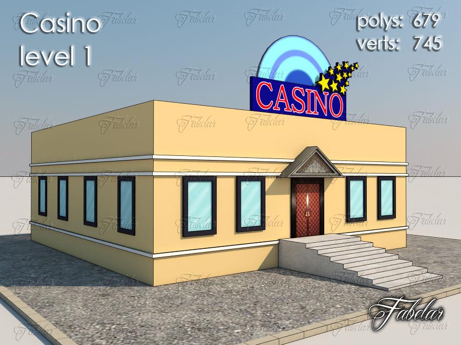Poziom kasyna 1 royalty-free 3d model - Preview no. 1
