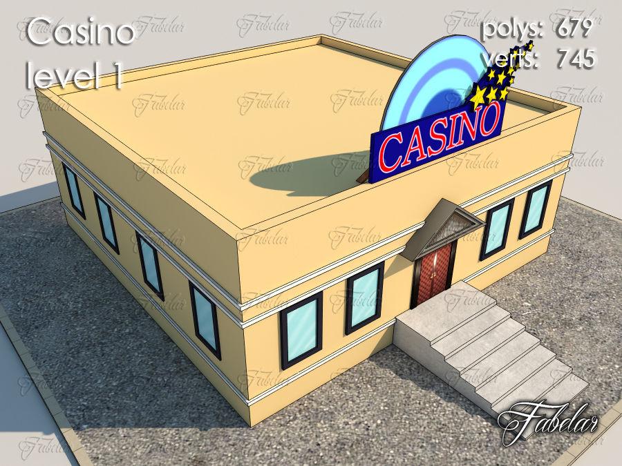 Poziom kasyna 1 royalty-free 3d model - Preview no. 2