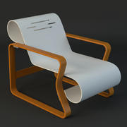 chaise alvar aalto 3d model