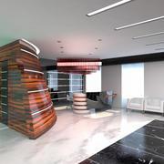 Hall Lobby Interiör 3d model