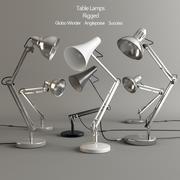Лампы установлены 3d model