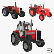 Vintage Tractors 3D Models Collection 3d model