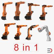 Collezione Kuka Robots 3 3d model